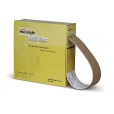 Шлифовальная бумага GOLD B312T Soft Flex перфорир. рулон 114мм х 25м