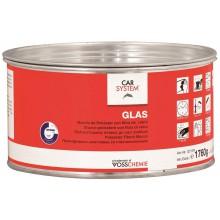 """Шпатлевка 2К полиэфирная стекловолокнистая """"Glas"""", зеленая"""