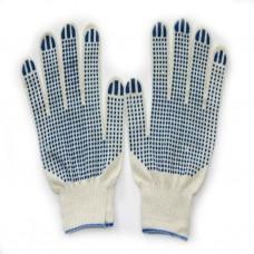 Перчатки х/б с ПВХ протектор 5нитка, 65 г