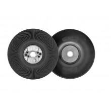 RoxelPro Оправка для фибровых кругов, особо жёсткая, ребристая M14