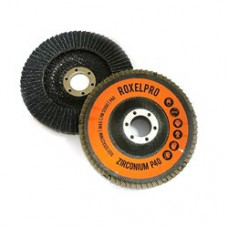 RoxelPro Лепестковый круг ROXTOP 125 х 22мм, цирконат, конический
