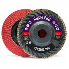 RoxelPro Лепестковый круг ROXPRO 115 х 22мм, Trimmable, керамика, конический