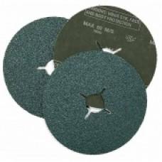 RoxelPro Фибровый шлифовальный круг ROXTOP 180 х 22 мм, цирконат