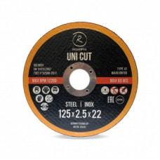 RoxelPro Отрезной круг ROXTOP UNI CUT Т41, 230 мм, нерж.сталь, металл