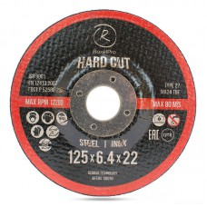 RoxelPro Отрезной круг ROXTOP HARD CUT Т41, 125 мм нерж.сталь, металл