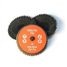 RoxelPro Быстросъёмный лепестковый круг ROXTOP 75мм, цирконат