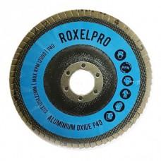 RoxelPro Лепестковый круг ROXONE 125 х 22мм, оксид алюминия, конический