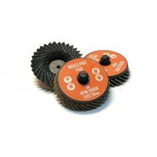 RoxelPro Быстросъёмный лепестковый круг ROXTOP  50мм, цирконат
