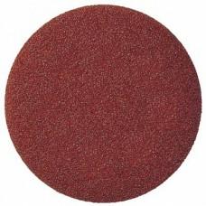 Шлифовальный круг B316 125мм на липучке, без отв, красно-коричневый