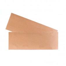 Шлифовальная полоска GOLD B312T 70х198мм на липучке без отв, золотистая