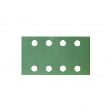 Шлифовальная полоска FILM L312T 70х125мм на липучке 8 отв, зелёная