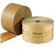 Шлифовальная бумага GOLD B312T в рулонах 115мм х 50м, золотистая