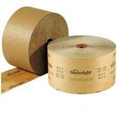 Шлифовальная бумага GOLD B312T в рулонах 70мм х 50м, на липучке, золотистая