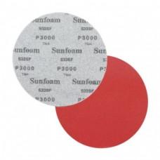 Шлифовальный круг SUNFOAM S33SF 150мм на липучке, без отв.