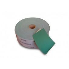 Шлифовальный материал FILM L312T в рулонах 115мм х 50м на липучке, зелёный
